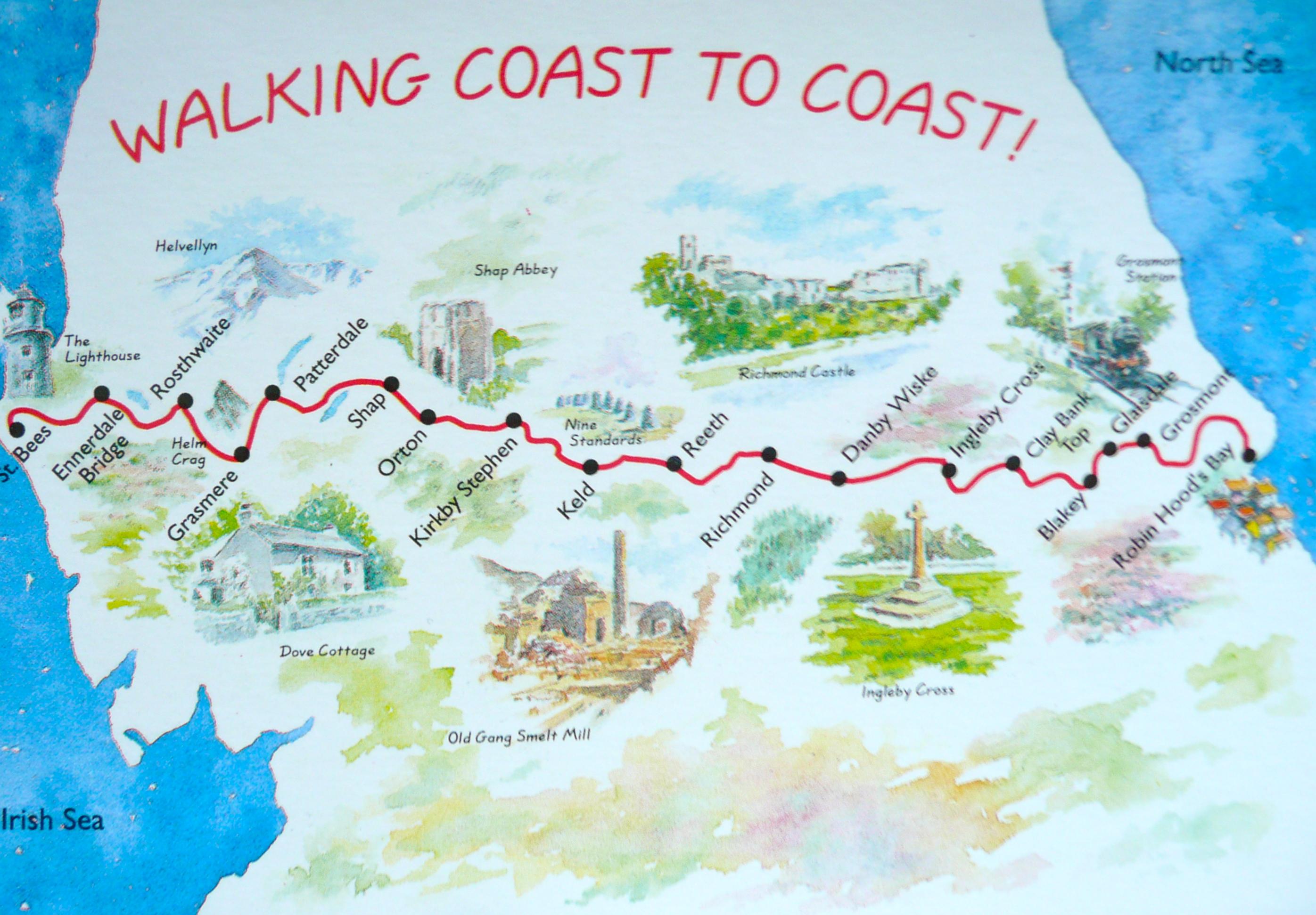 Walking Coast to Coast